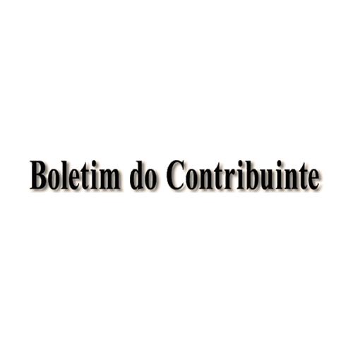 Boletim do Contribuinte